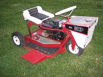 Vintage Swisher A 32 Big Mow Zero Turn 3 Wheel Mower
