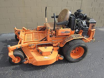 Scag Turf Tiger 61 Deck Commercial Mower Tractor Zero