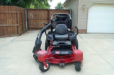Toro Z Master Commercial Zero Turn 52 Cut With Bagger